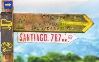 Cammino di Santiago de Compostela giovani 2021